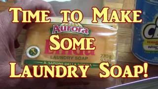 Laundry Soap Liquid AND Powder