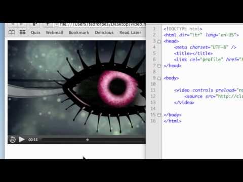 Rich Media in HTML5 - Video