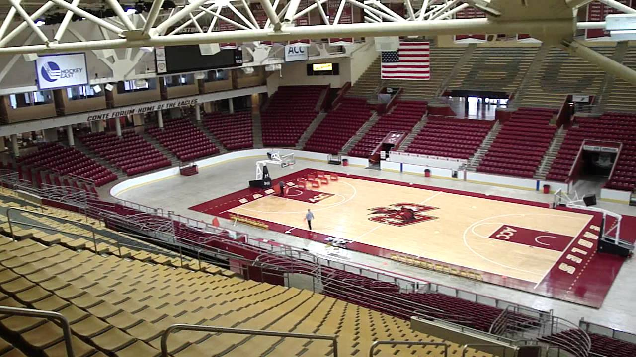 Boston College Basketball Arena - YouTube