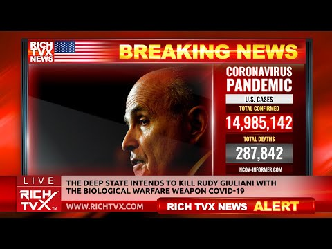 Breaking News: The Deep State Intends To Kill Rudy Giuliani – Rich TVX News