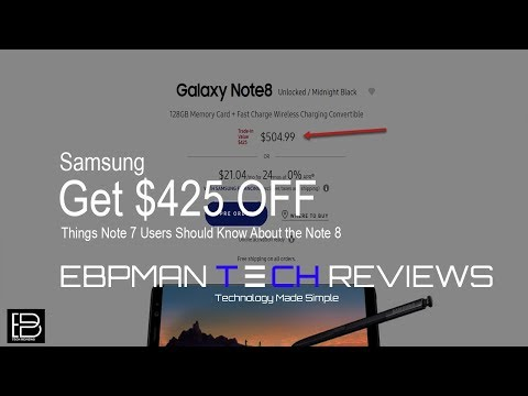 Get $425 Off your Note 8 Order!  You still can!