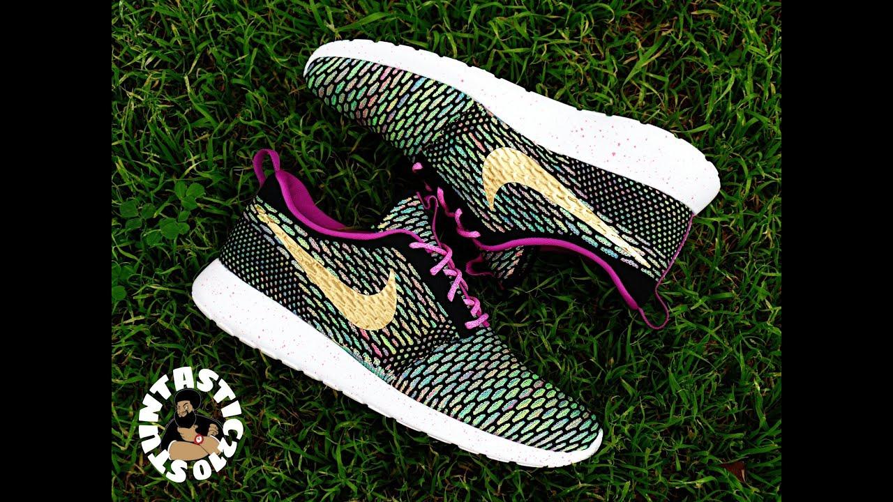 Roshe Run Flyknit Multicolor