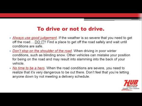 2016 12 21 10 03 HUB Winter trucking tips.