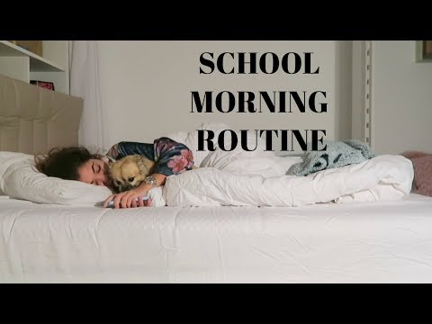 BEFORE SCHOOL MORNING ROUTINE  IMAANI NOELLE VLOG