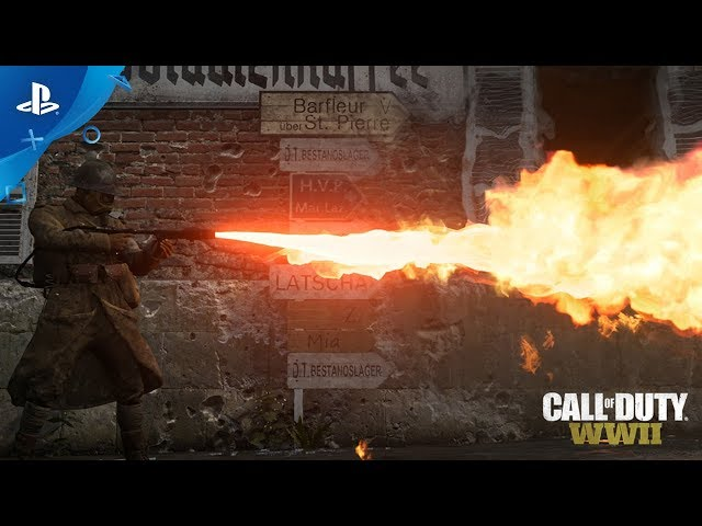 Call of Duty: WWII - Carentan Trailer | PS4