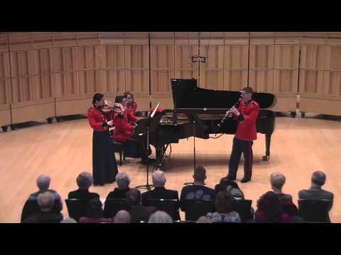 """MOZART Trio in E-flat, Kegelstatt, K. 498 - """"The President's Own"""""""