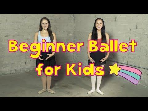 Beginner Ballet for Kids | Dance Tutorial | CJ and Friends
