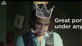 Mistake in Aamir Khan's Ad !