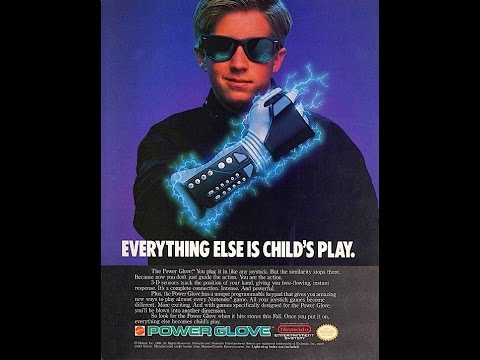 1989 Mattel Power Glove For The NES Commercial