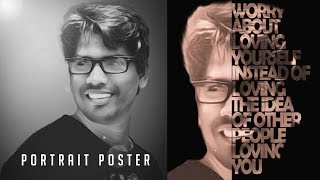 [ Learn in Hindi ] How To Create Typography Tutorial Photoshop CC