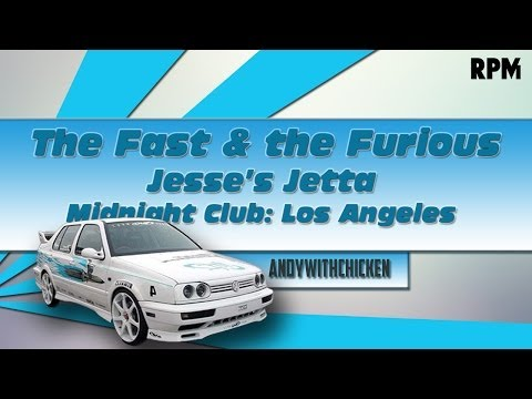 How To Make | (FULL TUTORIAL) Midnight Club L.A. | The Fast & The Furious Jetta
