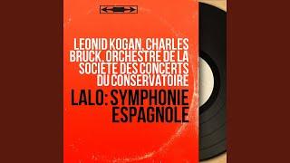 Symphonie espagnole in D Minor, Op. 21: I. Allegro non troppo