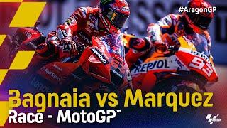 Bagnaia vs Marquez in Aragon