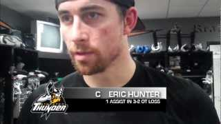 POSTGAME: Matt Thomas, Eric Hunter, Philippe Cornet comments (12-29-12)