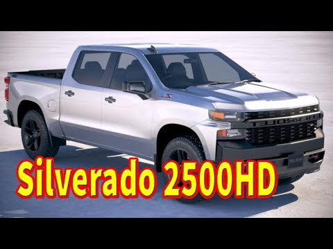 2020 Chevrolet Silverado HD High Country Debuts with Gentler Face