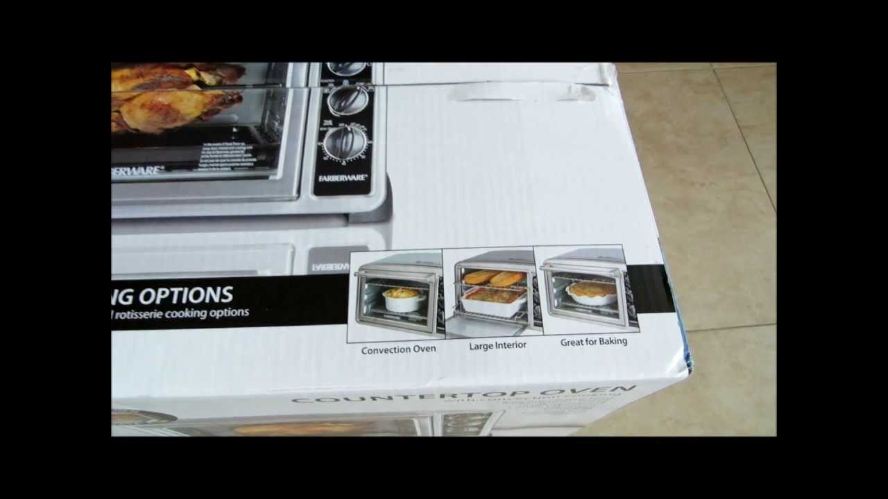 Farberware Countertop Oven With Rotisserie : Farberware Countertop Oven with Convection and Rotisserie Feature ...