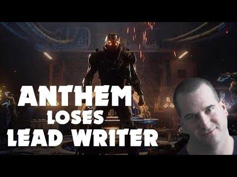Lead Writer Leaves Anthem