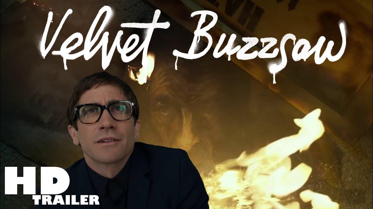ผลการค้นหารูปภาพสำหรับ velvet buzzsaw film 2019 poster