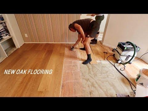 Installing Hardwood Flooring (with Glue)