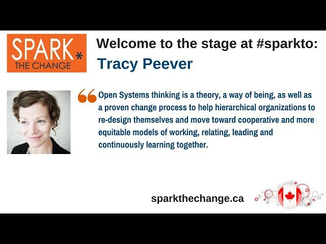 Spark the Change Toronto 2018 with Tracy Peever