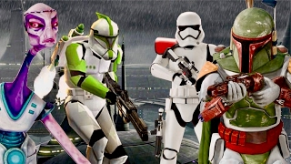 The Clone Troopers That Rebelled Against the Empire - Kamino Uprising Explained