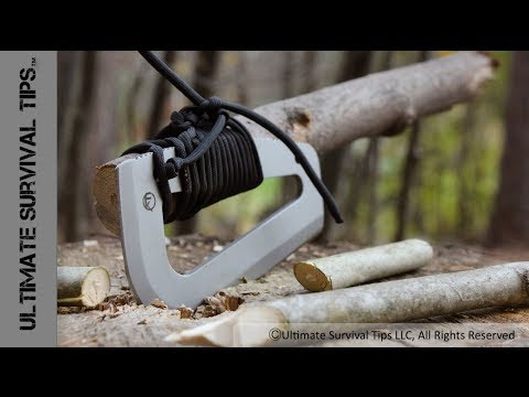 NEW! Bushcraft / Survival / Hunting Paracord Tool - Farson Blade Survival Tool - From Fremont Knives