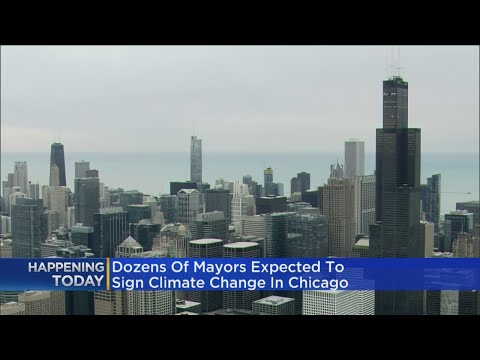 Mayors Join Climate Summit In Chicago