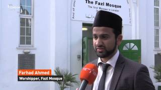 LondonLive: Ramadan at London's oldest mosque built by Ahmadiyya Muslim Community
