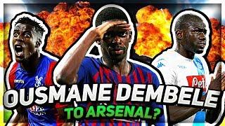 OUSMANE DEMBELE TO ARSENAL?! Top 5 Arsenal Transfer Targets...