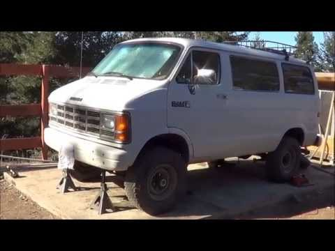 1989 Dodge Van 4x4 Conversion Part 4