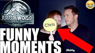 Jurassic World 2: Fallen Kingdom Bloopers and Funny Moments(Part-1) - Chris Pratt Funny 2018