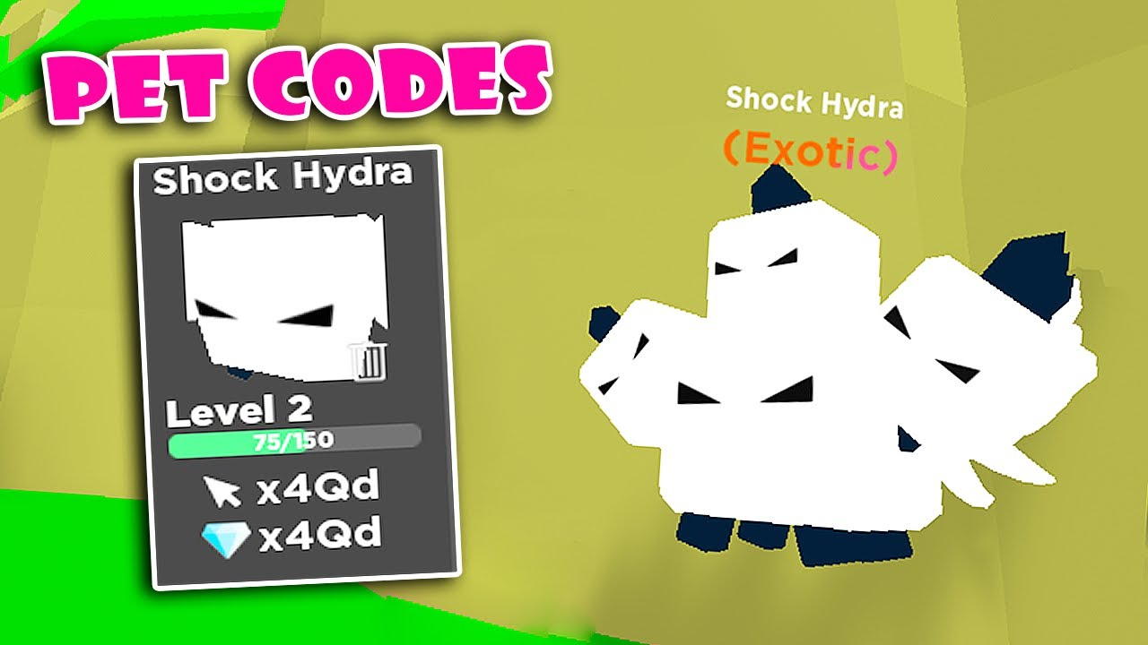 5 New Pet Codes Update! Getting New Best EXOTIC Pets in ...