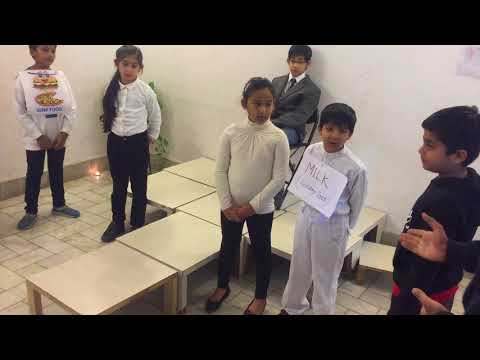 'Healthy food v/s Junk Food- A Hilarious Courtroom Drama performed by school students