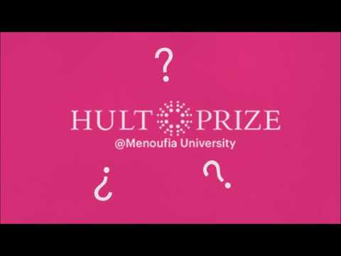 HULT PRIZE at Menoufia University 2017/2018