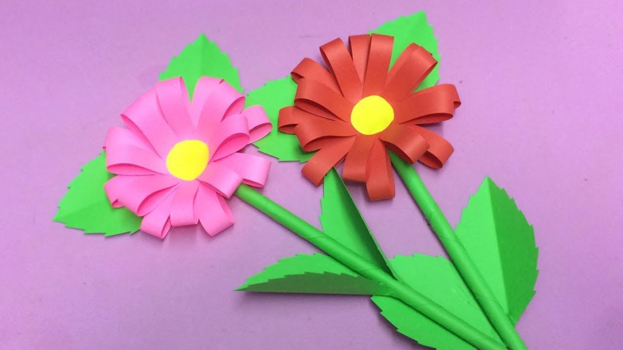 How to make paper flower making paper flowers step by step diy how to make paper flower making paper flowers step by step diy paper crafts mightylinksfo
