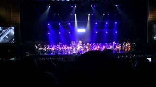 Симфоническое КИНО - Спокойная ночь (СПб, БКЗ «Октябрьский», 25.11.2015)