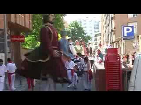 Gigantada 2008 Fiestas Tudela (Navarra) - Desfile