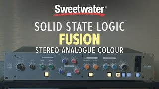 Solid State Logic Fusion Stereo Analogue Colour Master Processor Review
