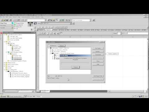 Descargar un programa de RSLogix 5000 a un PLC