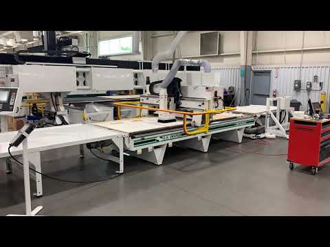 (Time-lapse) Panel Processing with CNC Automation | The M-Series by C.R. Onsrud