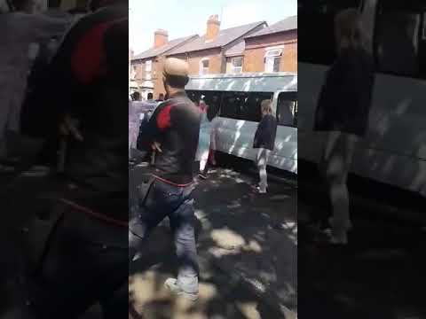 Asian family fight Bradford part 3