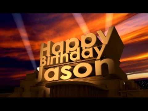 Happy Birthday Jason Youtube