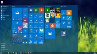 Меню Windows 10. Елементи меню Пуск. Налаштування меню Пуск в Windows 10
