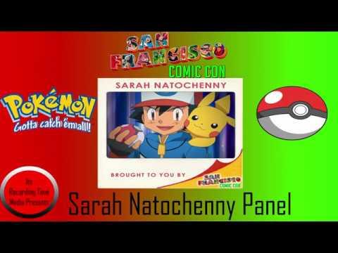 San Francisco Comic Con 2017: Sarah Natochenny Panel