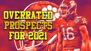 Overrated Prospects In The 2021 NFL Draft