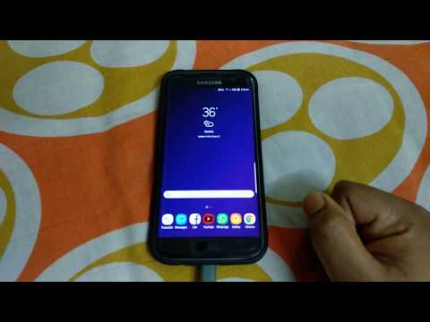How To Set Samsung S9 Lock Screen Video Wallpaper In S7 Youtube