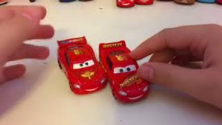 Disney Pixar cars 3 Rusteze Lightning McQueen diecast review
