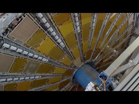 Inside CERN's ATLAS Particle Detector
