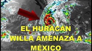 El Huracán Willa ya es categoría 5 y está por tocar tierra en México