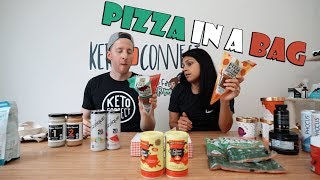 Worst Keto Product So Far | New Halo Top Flavors, Pizza In a Bag